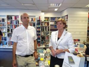 Nanko Boerma en Mieke Blankers-Kasbergen uitreiking Waardevolle verbindingen